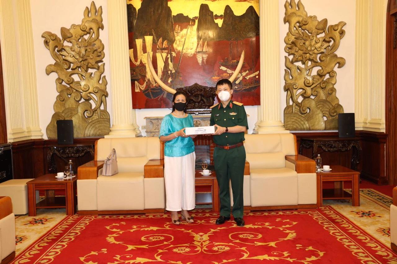 株式会社シングラ、新型コロナウイルス感染症に関わるマスク寄贈に対しベトナム国防省より感謝状を授与